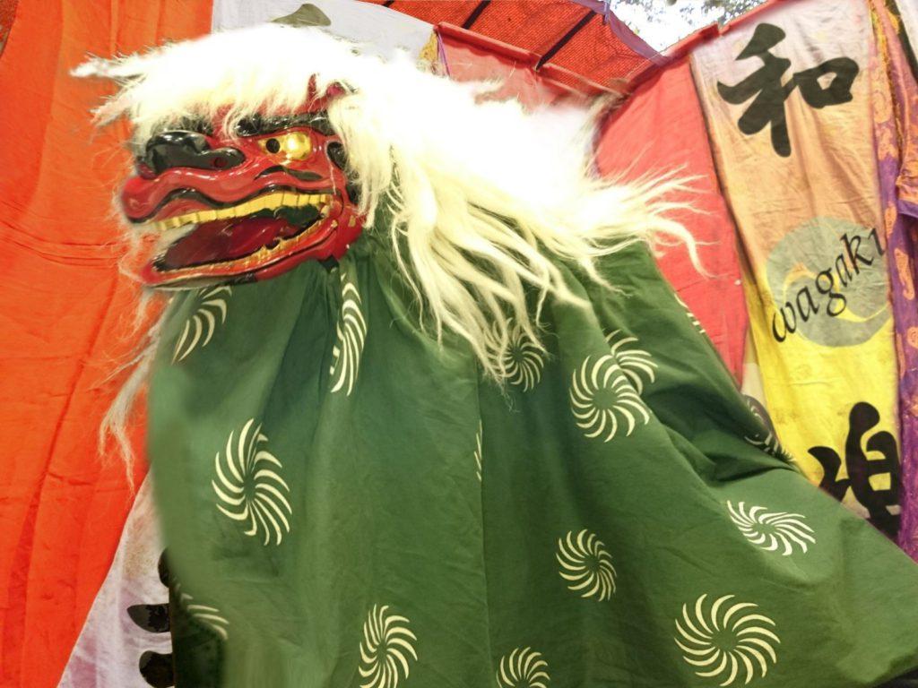 2021年1月2日:新春!江戸寿獅子(イオン三好アイモール)