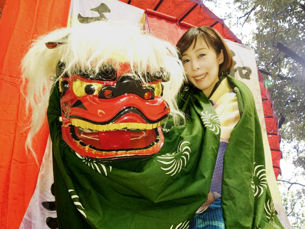 2021年1月1日:新春!江戸寿獅子(イオンモール新瑞橋)